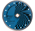 "EC Series Extra Cut Diamond Blade - 7"" x 0.080"" / ◊ ~ 7/8"" - 5/8"" Arbor"
