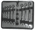 12 Piece Ratcheting Wrench Set / 34164