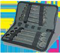 8 Piece Flex-Head Ratcheting Wrench Set