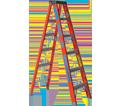 Step Ladder - Type 1A - Fiberglass / F486 Series *XHD