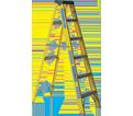 Step Ladder - Type 1 - Fiberglass / F540 Series *HD