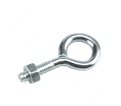 "Eye Bolt w/ Nut - 3/16"" - Steel / Zinc"