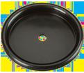 "Filter Plate - 5"" - Plastic / 12303"
