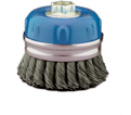 """4"""" - Cup Brush - 0.020"""" Knot-Twisted Wire *For Stainless Steel"""