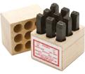 "Machine Made Stamps - 1/2"" Figure Set"