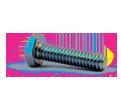 Hex Head Cap Screw M6 Diameter - Metric / Zinc
