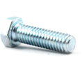 Hex Head Cap Screw M8 Diameter - Metric / Zinc