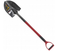 Round Point Shovel - D-Handle - Steel / GPHR2FDS *PRO