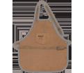Full Bib Apron - 2 Pocket - Split Leather / AP601