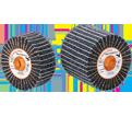 "Flap Wheel - Non-Woven & Zirconium - 4-1/2"" Dia. / TWO-IN-ONE™"