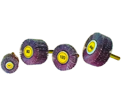 "Small Flap Wheels - Aluminum Oxide - 2"" Dia. / KM 613"
