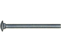 "Carriage Bolt 1/4"" Diameter - Grade 2 / Zinc"
