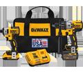 2 Tool Combo Kit - 20V Li-Ion / DCK299D1T1 *FLEXVOLT™