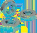 Hex Nut Machine Screw / Steel Zinc