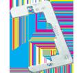 "Device Leveler/Retainer - 4 1/4"" - Steel / RLC *PLAIN"