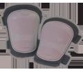 Kneepads - Grey - Hard - Poly Fabric / KP303