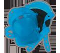 Kneepads - Blue - Gel - Synthetic Rubber / KPG361