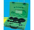 19-Piece Industrial Maintenance Bi-Metal Hole Saw Kit