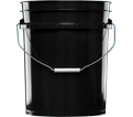 Plastic Bucket - 20 L - Black / 5 GALLON