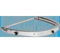 Hard Hat Faceshield Mount - Swivel - Aluminum / EPB201