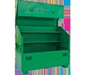 Slanted Job Box Chest - 44 cu. ft. - Green / 3660