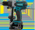 """Hammer Drill/Driver LXT (Kit) - 1/2"""" Chuck - 18V Li-Ion / DHP458F"""