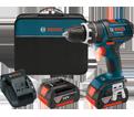 "Hammer Drill/Driver (Kit) - 1/2"" - 18V Li-Ion / HDS181 Series *COMPACT TOUGH"