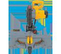 "Compound Miter Saw - 10"" - 15.0 A / DW713"