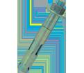 """Hex Nut Sleeve Anchor - 3/8"""" - Zinc Plated / SLE"""