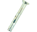 "Flat Head Sleeve Anchor - 1/4"" Philips - Zinc Plated / SLF"