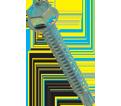 Hex Washer Head 1/4-14 Self-Drilling TEK Screws / Zinc Plated (Bulk)