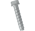 "Hex Head TORPEDO® Bolt 1/4"" - Galvanized Carbon Steel / UTB"
