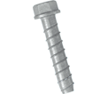 "Hex Head TORPEDO® Bolt 3/8"" - Galvanized Carbon Steel / UTB"