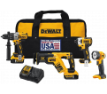 4 Tool Combo Kit - 20V Li-ion / DCK494P2