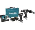 2 Tool Combo Kit - 18V Li-Ion / DLX2176T Series