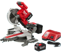 "Dual Sliding Miter Saw (Kit) - 10"" - 18V Li-Ion / 2734-21HD *M18 FUEL"
