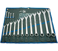 16 Piece Raised Panel Combo Wrench Set / 700121