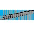 "Chrome Socket Set - 1/2"" - 6 Point / 601316 *15 Pc TORQUE DRIVE®"