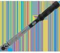 "Heavy Duty Slim Head Torque Wrench - 3/8"" Drive - 80 ft./lbs."