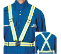 Traffic Suspenders - Hi-Viz Yellow - Stretch Fabric / TV20E