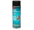 Adhesive - Wood, Metal. Glass - Clear - Aerosol / 76 *HI-TACK