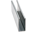 """Strut Channel - 3-1/4"""" - Single - 20' / Pre-Galvanized Steel *12 GAUGE"""