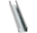 "Strut Channel - 1"" - Single - 20' / Pre-Galvanized Steel *12 GAUGE"