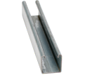 "Strut Channel - 1-5/8"" - Single - 20' / Aluminum *14 GAUGE"
