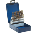 Jobber Drill Bit Set - 135° - Wire Gauge / 01-E 619 *SST+ (60 pc)