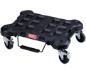 Modular Tool Box Dolly - Impact Resistant Polymer - Black / 48-22-8410 *PACKOUT