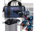 2 Tool Combo Kit - 18V Li-Ion / GXL18V-224B25 *FREAK & BRUTE TOUGH™