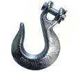 Clevis Slip Hook - Zinc Plated - Grade 30 or 40 / Steel