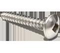 Truss Head #10 Robertson Sheet Metal Screws / 18.8 SS (BULK)