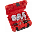 Hole Saw Kit - 10 PC - Plumbers / 49-22-4145 *HOLE DOZER™